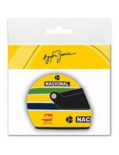 Adhesivo Ayrton Senna Casco 3D