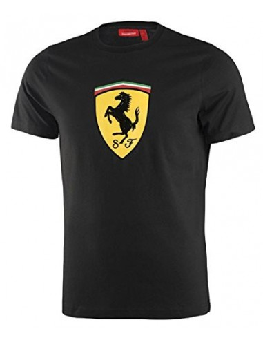 Camiseta Ferrari Scudetto Big Negro