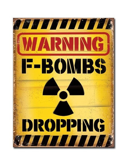 Placa F-Bombs Dropping