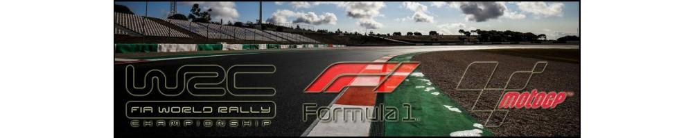 Ropa y Complementos - Formula 1 - Moto GP - WRC